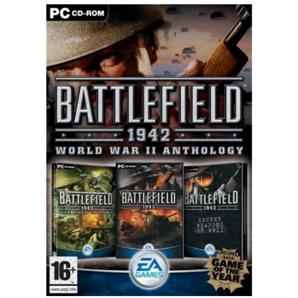 Battlefield 1942 The Wwii Anthology Game PC | http://gamesactions.com shares #new #latest #videogames #games for #pc #psp #ps3 #wii #xbox #nintendo #3ds
