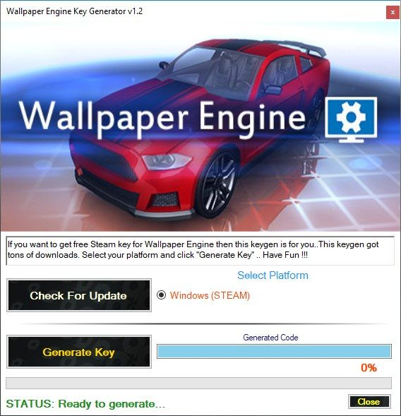 Wallpaper Engine Key Generator V12 In 2019 Generate Key