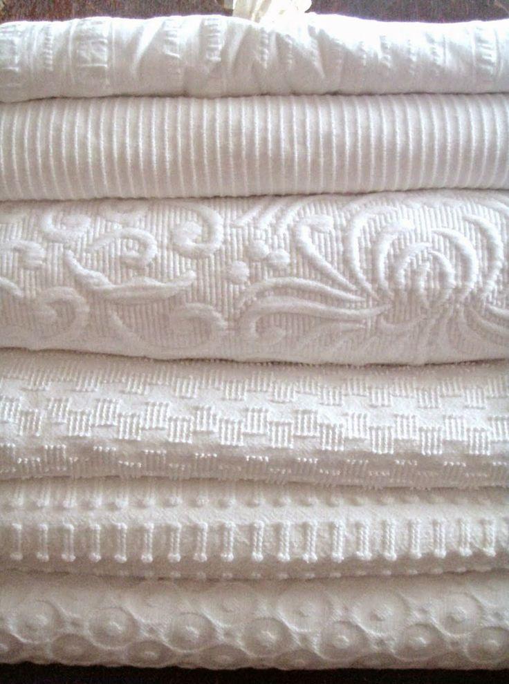 white coverlets