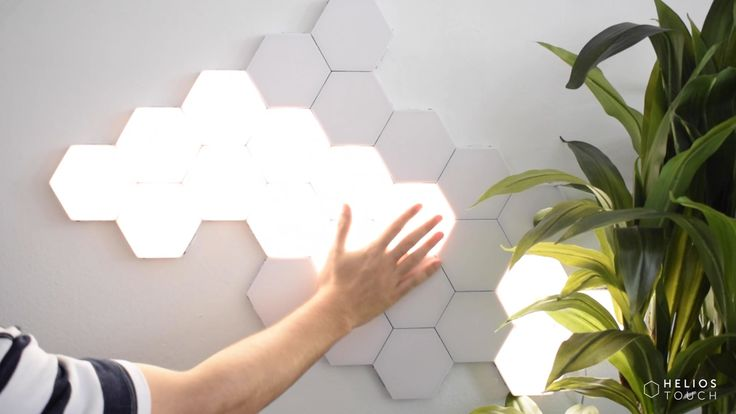 Illuminate Your Mood – Be Creative – Swipe For Light Helios Touch – Touch-Sensitive Modular Lighting