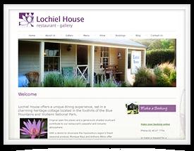 Design for Lochiel House Restaurant