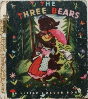 The Three Bears - Little Golden Book (original cover by Feodor Rojankovsky)