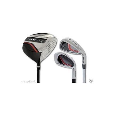 Other Golf Equipment 181155: Maxfli Black Max Deluxe 13 Piece Juniors Golf Set For Left Handers -> BUY IT NOW ONLY: $108.75 on eBay!