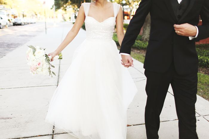 vine inspired tampa florida real wedding