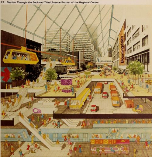 imaginary infrastructures - mikasavela: Plan for East Manhattan by Ulrich...
