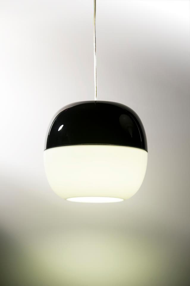 IJ-LAMP black-white suspended #DARK [design Jacob de Baan for DARK] DOEN | MATERIAALPRIJS Award winner