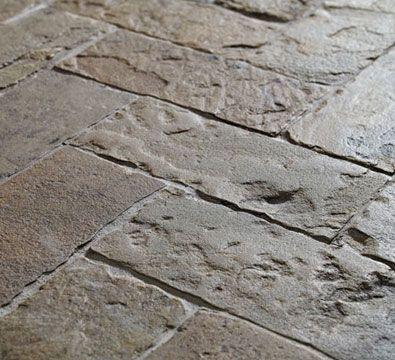 natural stone floor tile: rustic - ANTIQUE ENGLISH (HERRINGBONE) - ArchiExpo