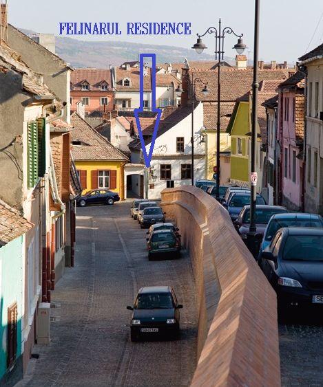 Old City Wall @ Felinarul Residence