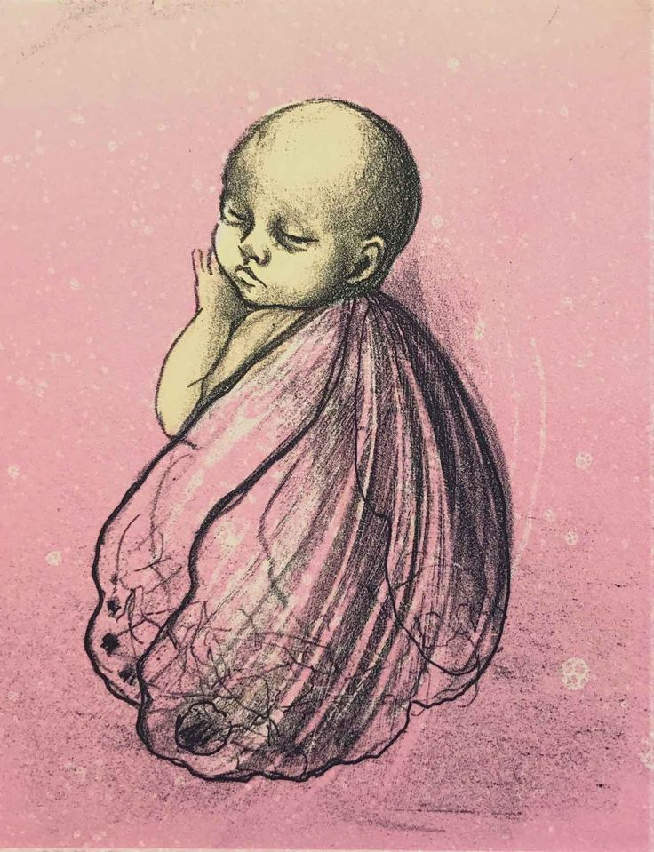 Tre-fargers litografi. Motivformat 15 x 12 cm.  Trykket på Arches Rives bomullspapir, 270 gram, hos Fredriksen Grafikk i Oslo.  Begrenset opplag på 80.