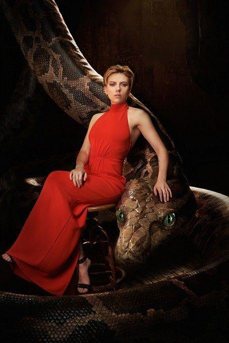Scarlett Johansson as Kaa - 'The Jungle Book'