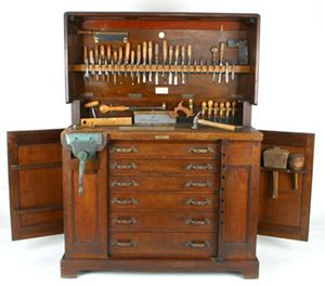 Great workbench and tool storage solution for those with small spaces