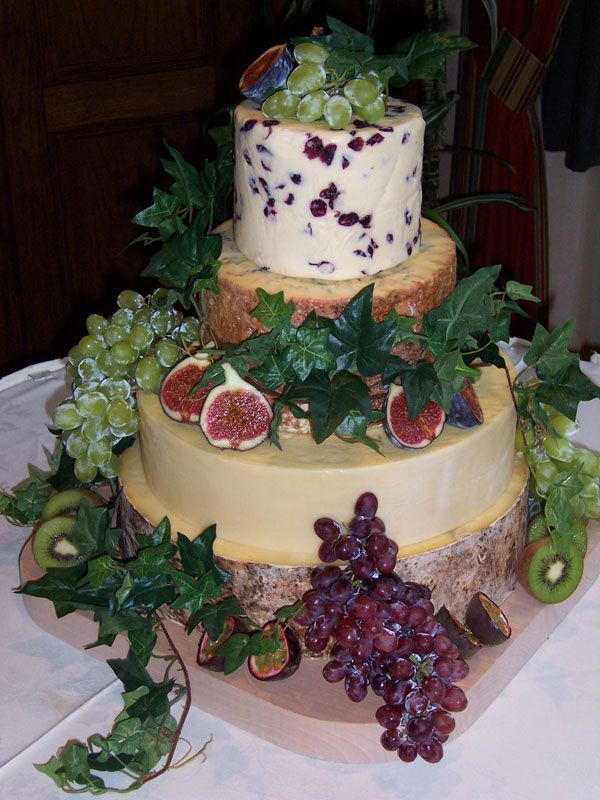 Cheese celebration cakes, cheese wedding cakes from Procter's Cheese Ltd. Chipping, Lancashire UK