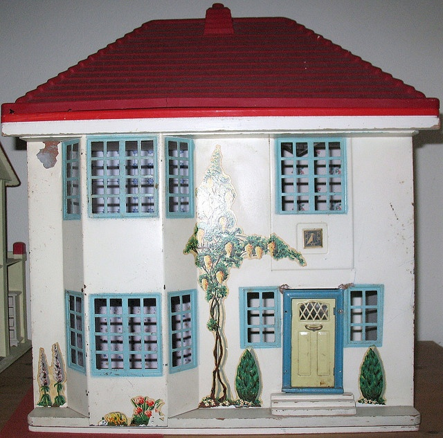 ✽ vintage dollshouse | triang: no 55 I had this exact one --- still in the attic