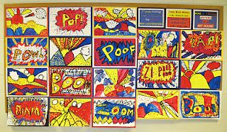 Roy Lichtenstein (and onomatopoeia)