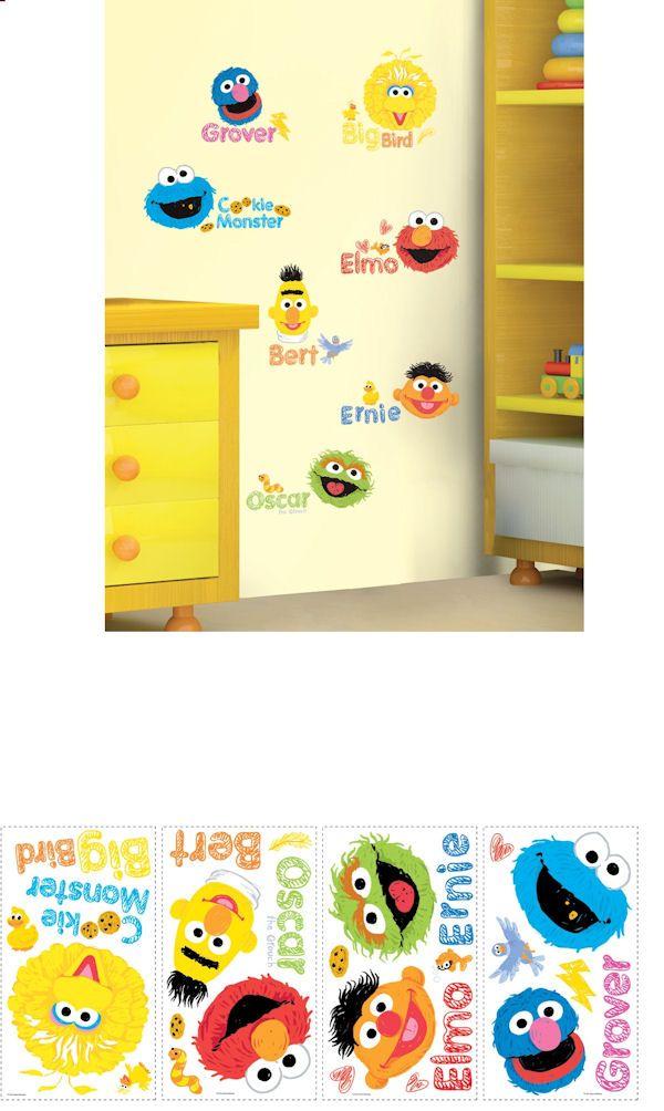 27 best Sesame Street Wall Decor !! images on Pinterest | Wall ...