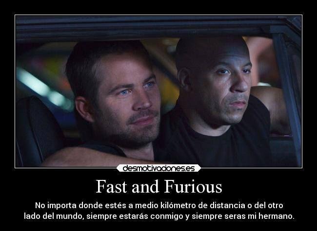 Rápidos y Furiosos 7 La Despedida de Toreto
