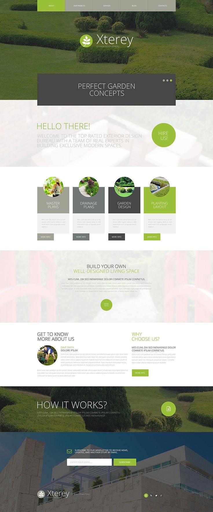 Exterior Design Bureau WordPress Theme