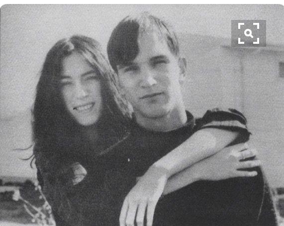 Patti et son frère Todd