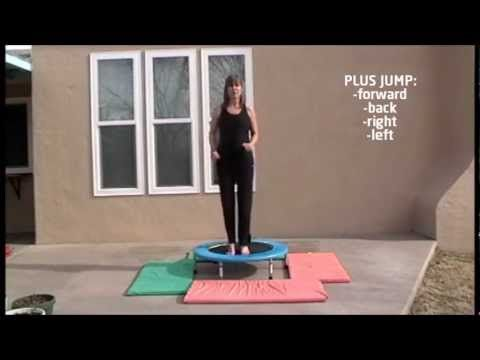 Have fun on the Mini Trampoline workout that will give you a great Cardio vascular workout. Good for your balance, coordination, burning calories and fat. Workout your own level and build up to doing the 10 minute exercise twice. Taught by Lucille Brasher, produced by Lynn Brasher