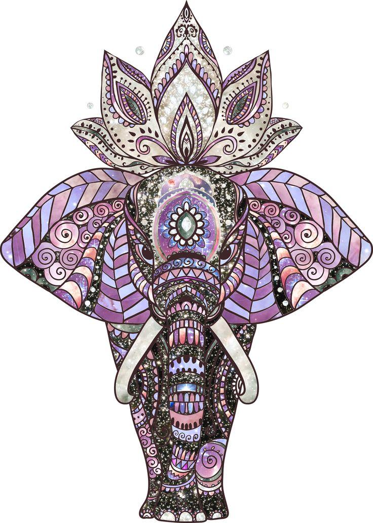 Iphone X Wallpaper Transparent Cosmic Elephant Ⓒ Piecesofandromeda Com Iphone Wallpaper