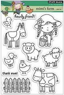 Penny Black Mimi's Farm Clear Stamps (30-182)