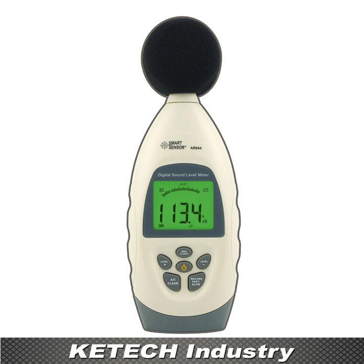 US $78.32 AR844 Digital Sound Level Meter Noise Level Tester Decibel Meter 30~130dB #AR844 #Digital #Sound #Level #Meter #Noise #Tester #Decibel #30~130dB