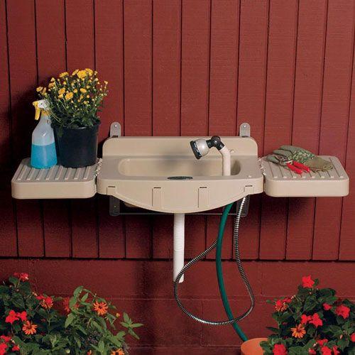 Wall Mounted Outdoor Garden Sinks | Outdoor garden sink on Outdoor Patio Sink id=40810