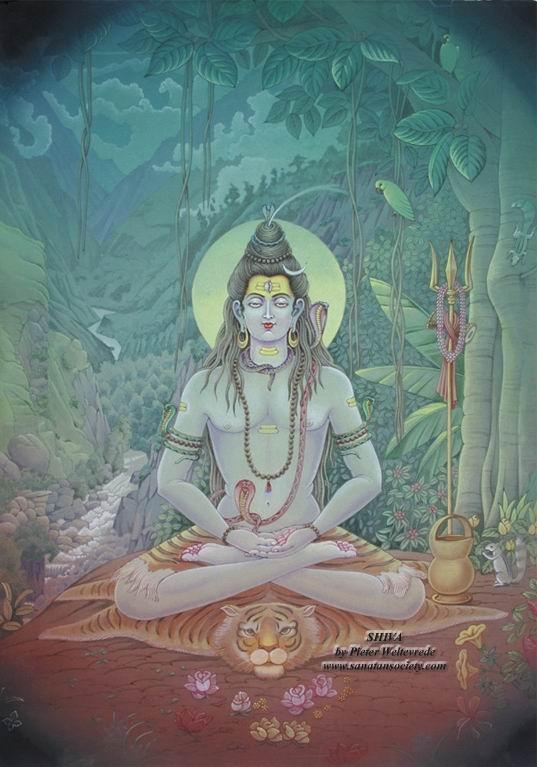 Shiva by Pieter Weltevrede