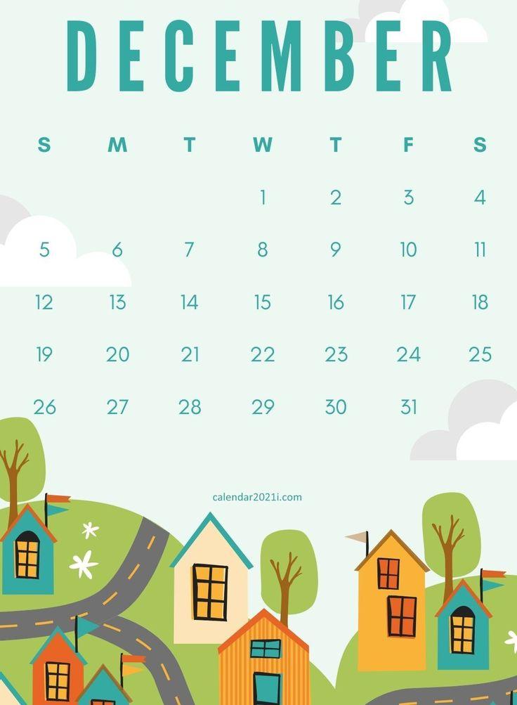 December 2021 Wall Calendar printable free download for ...