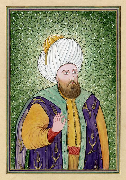 Ottoman Sultan II. Murad - Murad II Kodja was the Sultan of the Ottoman Empire from 1421 to 1451. Murad II's reign was marked by the long war he fought against the Christian feudal lords of the Balkans and the Turkish emirates in Anatolia, a conflict that lasted 25 years.