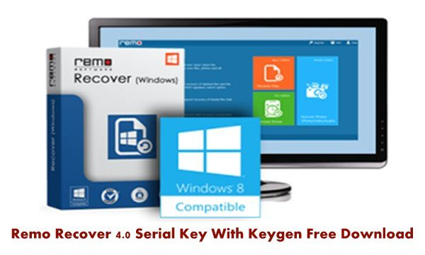 Remo Recover 4.0 Serial Key With Keygen Free Download