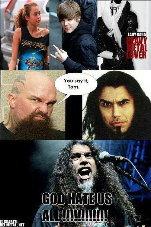 God hates us all!!! #slayer | Voor de lolz | Pinterest | God
