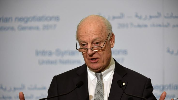 #world #news  UN Syria Envoy Says Peace Deal Remains Elusive  #StopRussianAggression @realDonaldTrump @POTUS @thebloggerspost