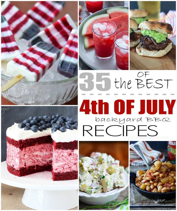 4th of july images food