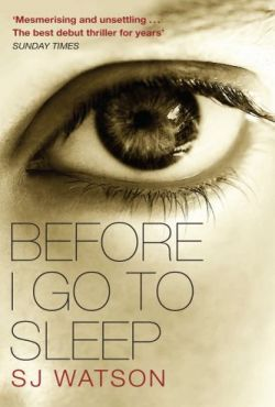 Bonnie reviews Before I Go To Sleep by S.J. Watson.