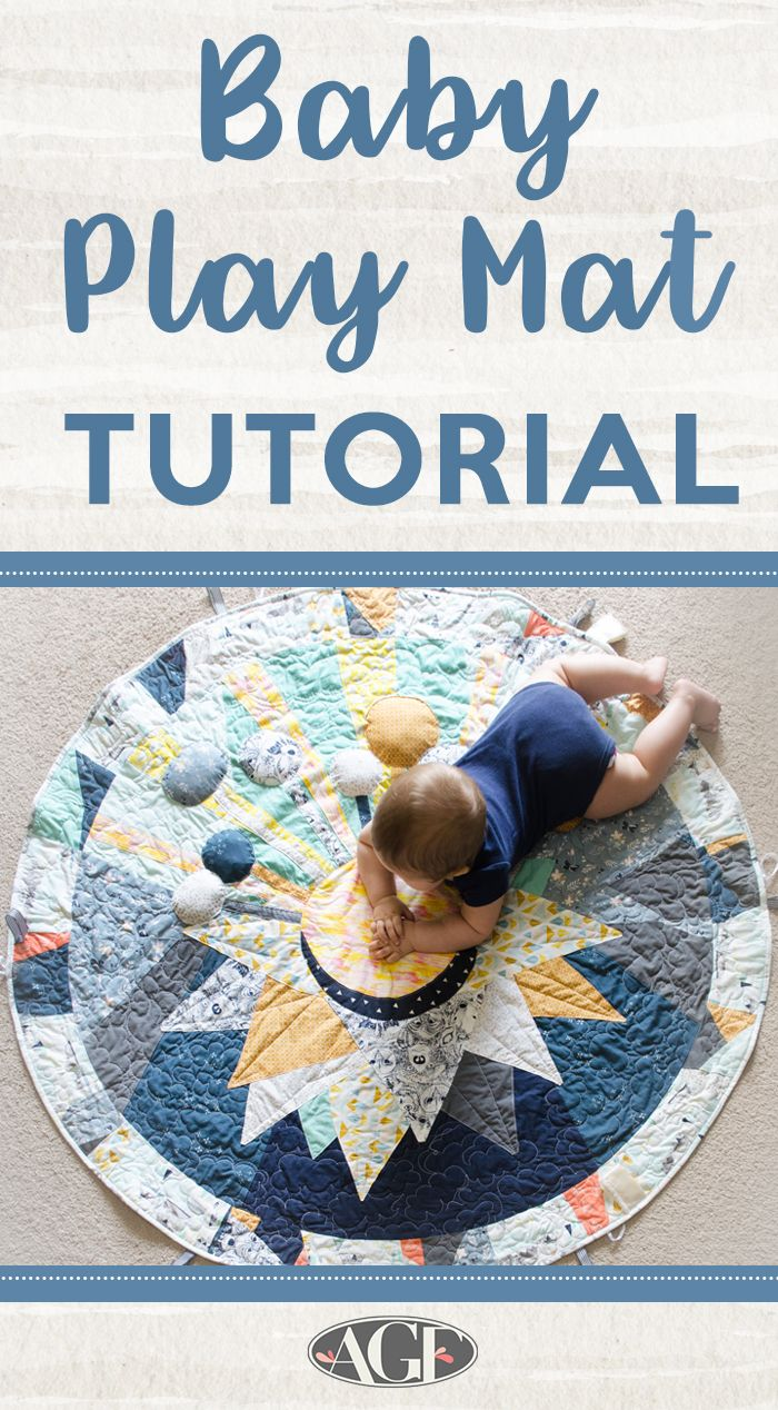 Baby Play Mat Tutorial