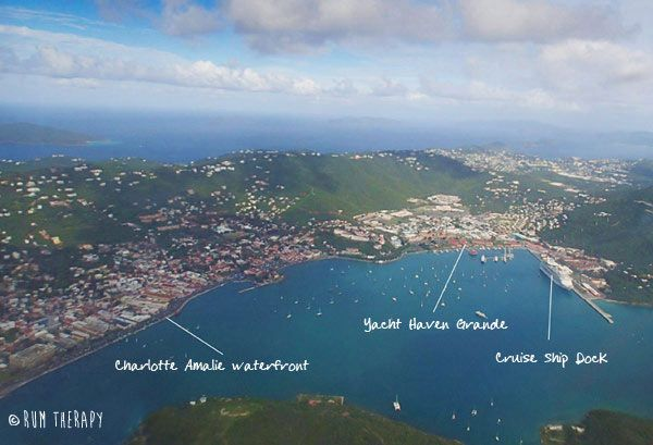 What to See and Do in Charlotte Amalie, St. Thomas - includes a map!