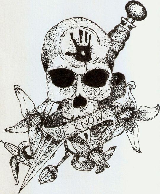Skyrim Dark Brotherhood by Marcela Pardo