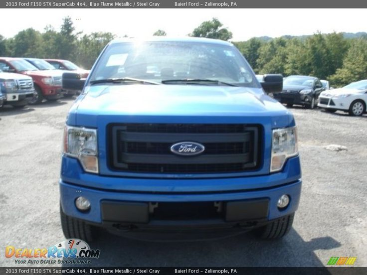 2013 ford f150 supercab stx blue | 2013 Ford F150 STX SuperCab 4x4 Blue Flame Metallic / Steel Gray Photo ...