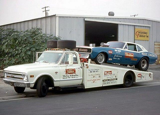 Chevy C10 Hauler Auto Transporter Pinterest Cars
