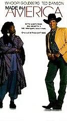 Made in America (VHS, 1993) Whoopi Goldberg Ted Danson