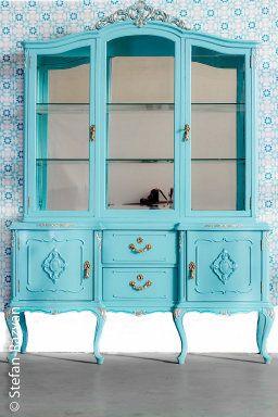 cambio radical para una vitrina de madera clsica restauracin de