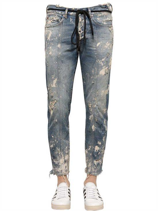 off white - jeans - uomo - autunno/inverno 2017