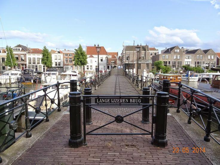 Dordrecht-lange ijzeren brug