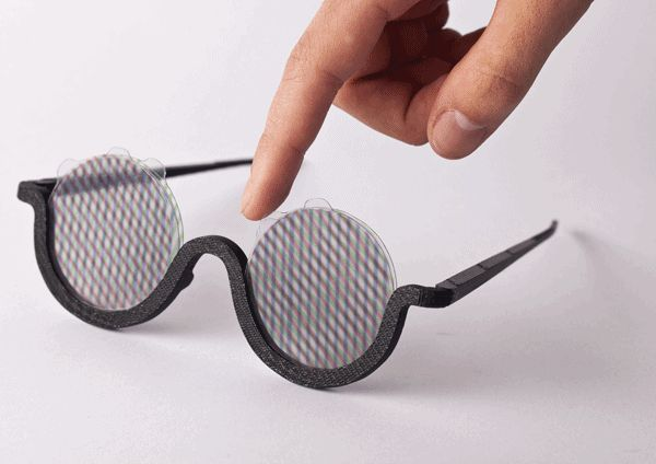 An Artist Made Sunglasses Just for Listening to Psychedelic Music (Drugs Not Needed) — NEON