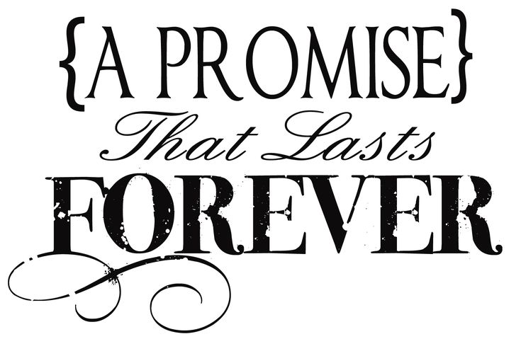 A Promise - Medium-  great website for LDS vinyl sayings, arts and crafts