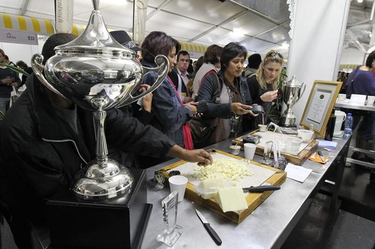 Franschoek Kaas en Wyn Fees - done http://www.cheesefestival.co.za