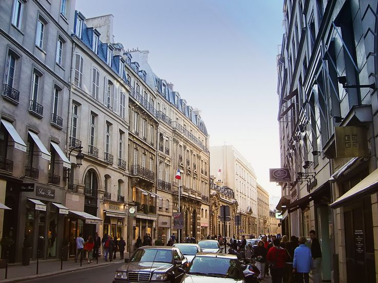 Duplex apartment rental on lively street rue du Faubourg Saint Honoré - Paris