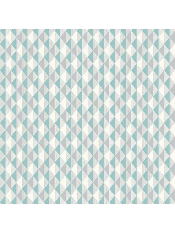 papier peint petits triangles harlequin vert gris. Black Bedroom Furniture Sets. Home Design Ideas