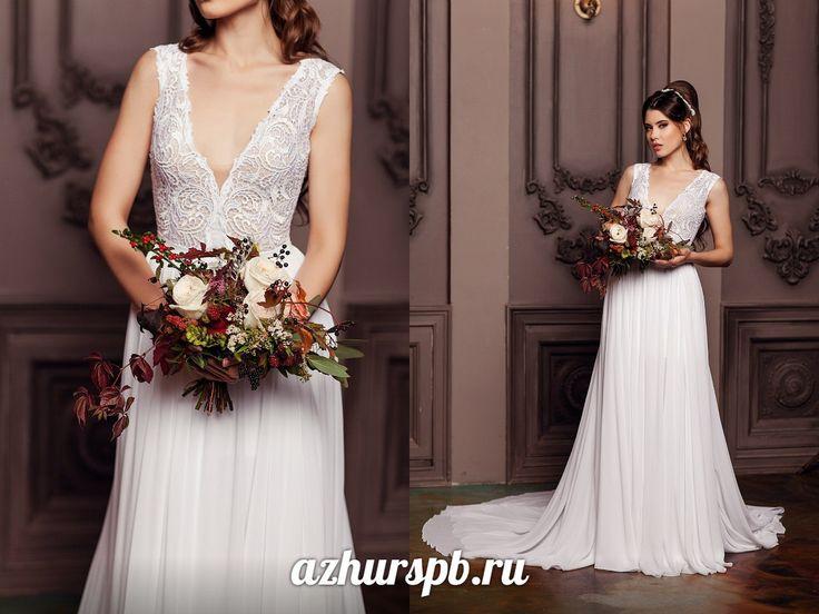 wedding dress 2016 open back  beach lace chifon